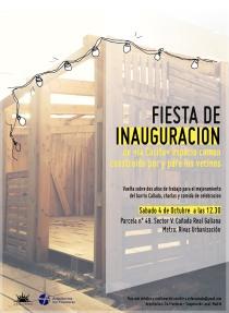 Cartel_Inauguración Casita_01